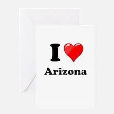 I Heart Love Arizona.png Greeting Card