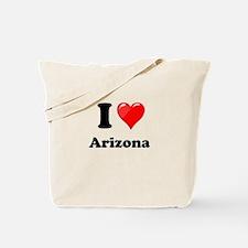 I Heart Love Arizona.png Tote Bag