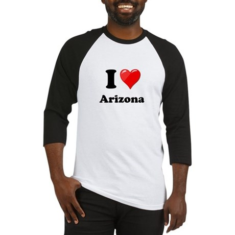 I Heart Love Arizona.png Baseball Jersey