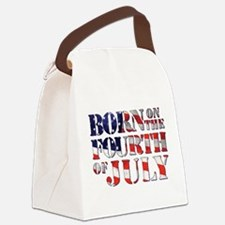 Cute 4th of july Canvas Lunch Bag