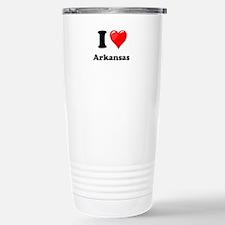 I Heart Love Arkansas.png Stainless Steel Travel M