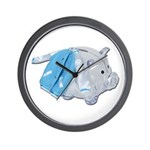 Letterman Jacket Piggy Bank Wall Clock