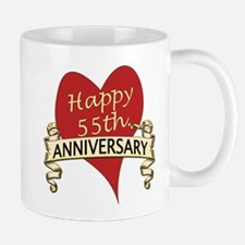 Unique 55 years anniversary Mug