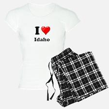 I Heart Love Idaho.png Pajamas