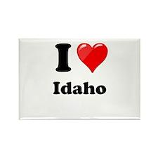 I Heart Love Idaho.png Rectangle Magnet