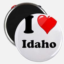 "I Heart Love Idaho.png 2.25"" Magnet (10 pack)"