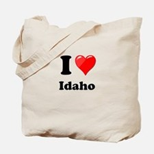 I Heart Love Idaho.png Tote Bag