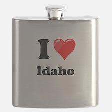 I Heart Love Idaho.png Flask