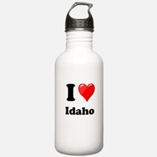 I Heart Love Idaho.png Water Bottle