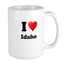 I Heart Love Idaho.png Mug