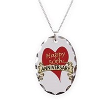 Funny 50th wedding anniversary Necklace