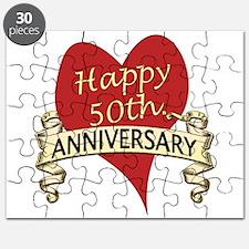 Cute 50th wedding anniversary Puzzle