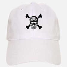 Born This Way Skull Baseball Baseball Cap