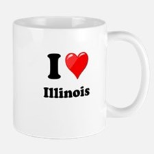 I Heart Love Illinois.png Mug