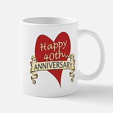 40th. anniversary Mugs
