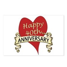 Cool Anniversary Postcards (Package of 8)