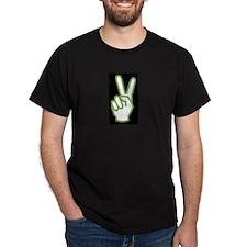 The Urban Palestinian Peace Unisex Black T-Shirt