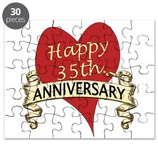 Funny 35th wedding anniversary Puzzle