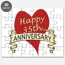Cute 35th anniversary Puzzle