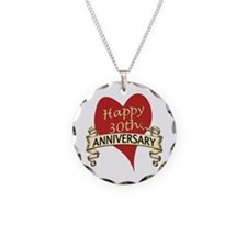 Cute Relationships Necklace Circle Charm