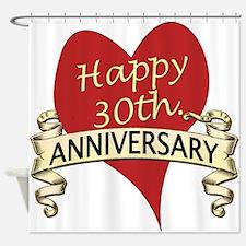 30th anniversary Shower Curtain
