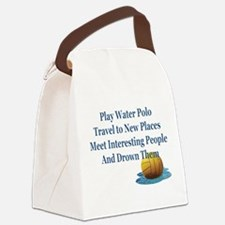 Reasons to Play Water Polo - Canvas Lunch Bag