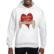 Cute 20th wedding anniversary Hoodie