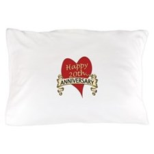 Cute Twentieth anniversary Pillow Case