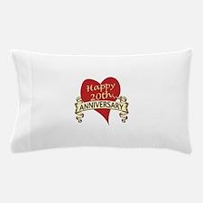 Cute Twentieth anniversary Pillow Case