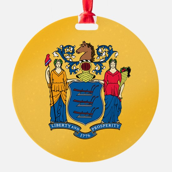 New Jersey State Flag Ornament