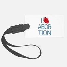 heartabortion.png Luggage Tag