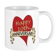 Cute 10th wedding anniversary Mug