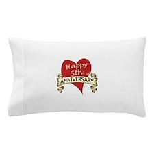 Funny Wedding anniversaries Pillow Case