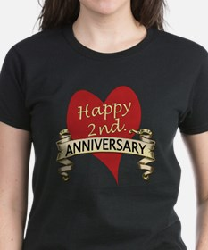 Cute Second anniversary Tee