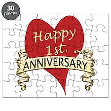 Cute 1st wedding anniversary Puzzle
