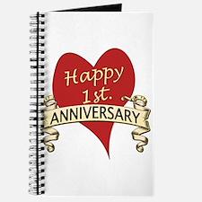 Cute 1st anniversary Journal
