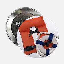"Life Preserver Life Vest 2.25"" Button"