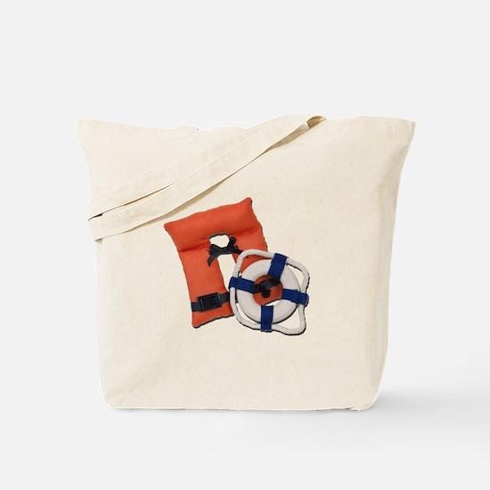 Life Preserver Life Vest Tote Bag