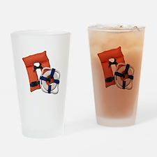 Life Preserver Life Vest Drinking Glass