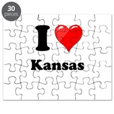 I Heart Love Kansas.png Puzzle