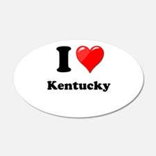 I Heart Love Kentucky.png Wall Decal