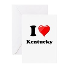 I Heart Love Kentucky.png Greeting Cards (Pk of 20
