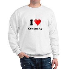 I Heart Love Kentucky.png Sweatshirt