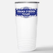 Obama & Biden Future Stainless Steel Travel Mug