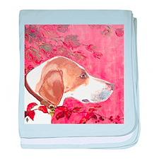 """""""Foxhound"""" baby blanket"""