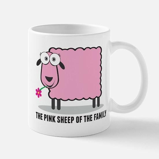 CRAZYFISH pink sheep Mug