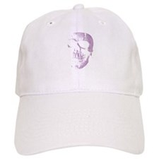 Purple Skull Cap