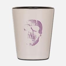 Purple Skull Shot Glass