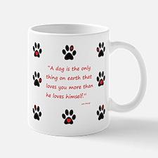 A Dogs Love Mug
