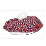 Plaid Beret Postcards (Package of 8)